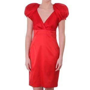 TED BAKER Dress Red ALWAID Midi